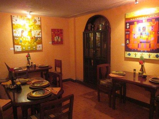 La Posada del Arte: Dining room