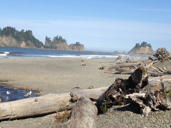 First Beach, Quileute Oceanside Resort & RV Park