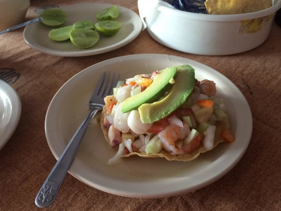 Vallarta Food Tours: Ceviche! Yum