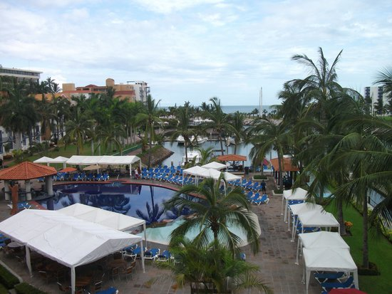 El Cid Marina Beach Hotel: View from our terrace