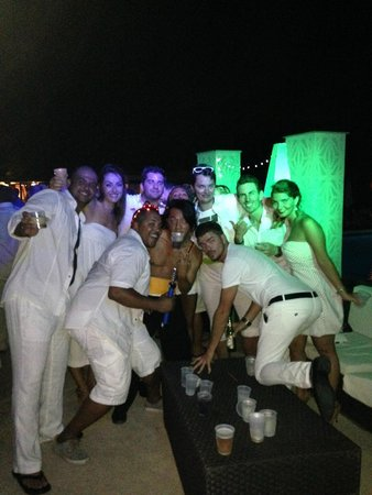 Club Med Turkoise, Turks & Caicos : Mike and he boyz