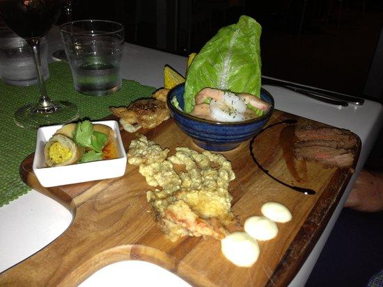 Lime Tree Trinity Beach: Tasting plate