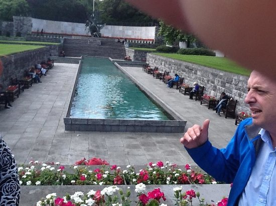 Rebel Tour of Dublin: The City That Fought an Empire : Guide explains the symbolism of the Garden of Remembrance and shares childhood memories of the p