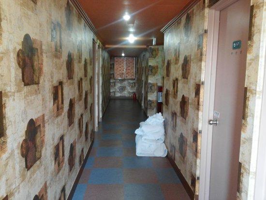 Pusan Inn Motel: 廊下
