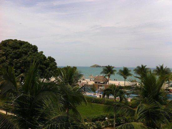 Hotel Playa Blanca Beach Resort : La vista desde la habitación