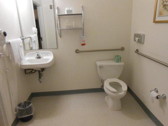 Super 8 Sault Ste. Marie: Large bathroom in h/c accessible room