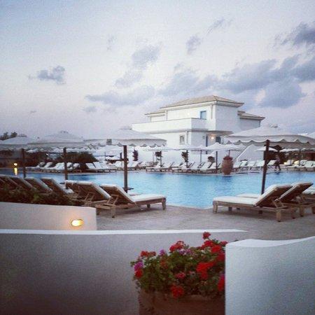 Mitsis Laguna Resort & Spa: Vue de la terrasse de ma chambre direct sur la piscine, que demandé de mieux?!