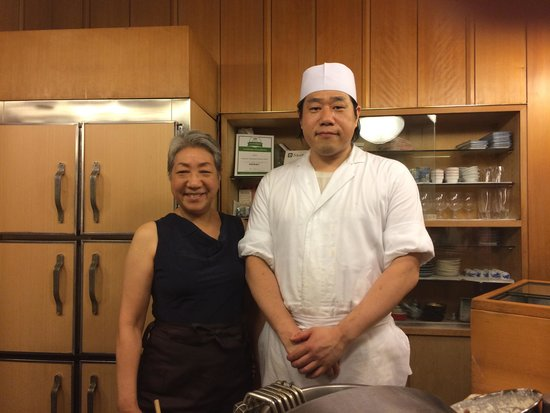 Tenkane, Shinjuku Odakyu HALC: Host and Chef