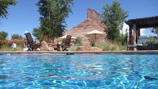 Gateway Canyons Resort, A Noble House Resort: Pool area
