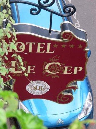 Hotel de Luxe le Cep: Wonderful hotel