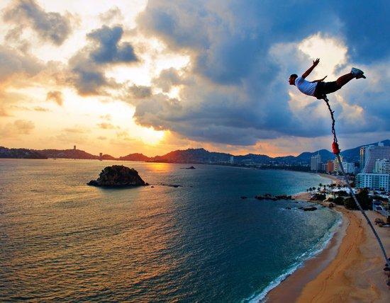 Acapulco's bay sunset