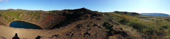 Kerid Crater : Kerid panorama