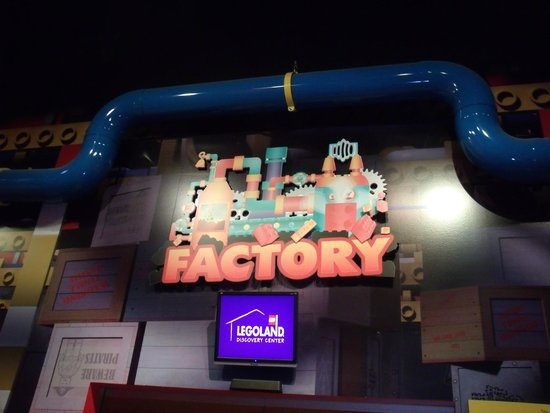 Legoland Discovery Center: Lego Factory Tour