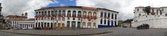 Praca Tiradentes: Panorâmica da Praça Tiradentes