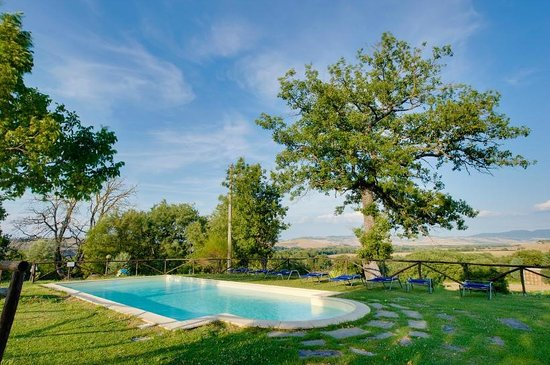 La Poderina Appartamenti: La piscina panoramica