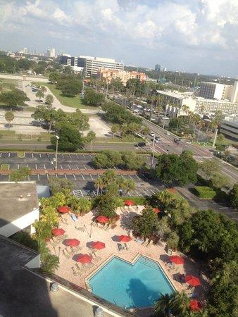 Tampa Marriott Westshore: View from 14th floor