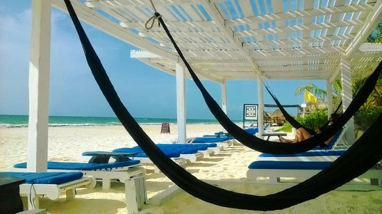 Coco Tulum Beach Hammock Lounge
