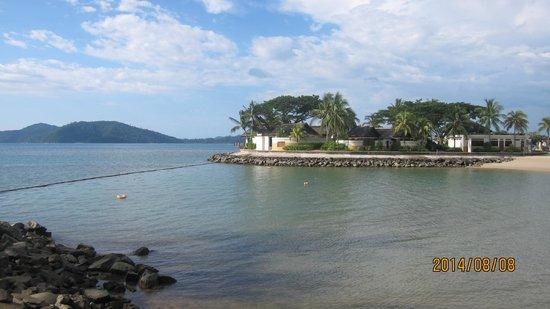 Shangri-La's Tanjung Aru Resort & Spa: Beach