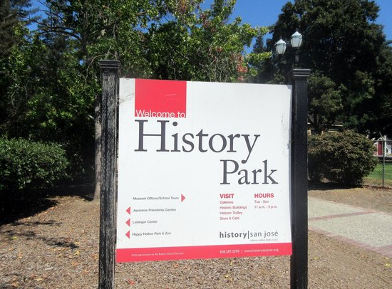 History Park at Kelly Park in San Jose, Ca