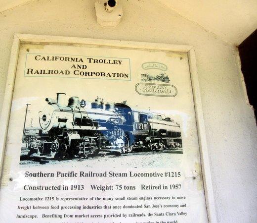 Southern Pacific 1215 - History Park - San Jose, Ca