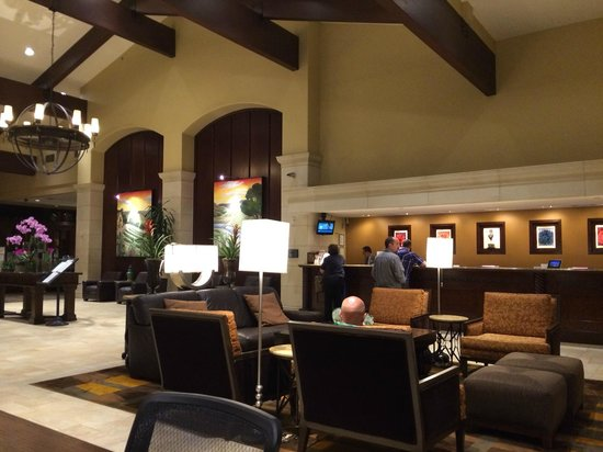 DoubleTree by Hilton Hotel Ontario Airport: lobby