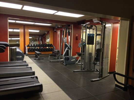 DoubleTree by Hilton Hotel Ontario Airport: big gym