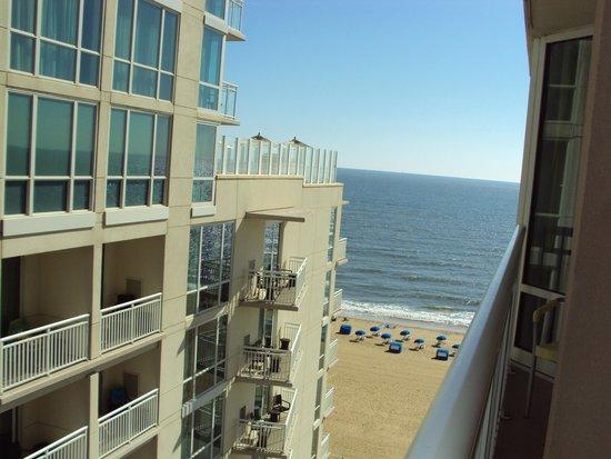 Ocean Beach Club: view from our room