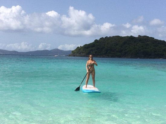 SUP St. John - Learn to Paddleboard in the USVI: So peaceful! Loved it!