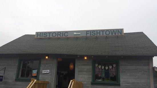 Fishtown: One of the shops