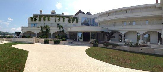 Residence Celigo: Hotel main entrance