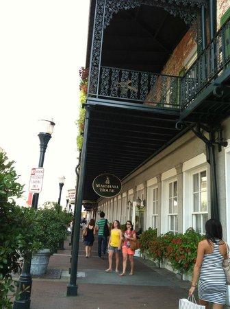 Savannah Historic District : The Marshall House