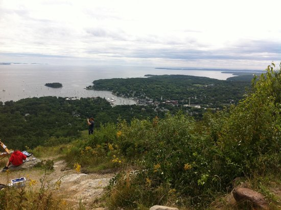 Mount Battie: View from Mt Battie