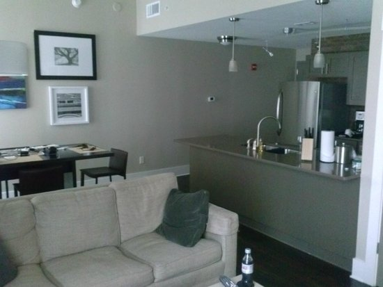 Bluegreen Vacations Studio Homes at Ellis Square, an Ascend Resort Collection: One Bedroom - Living/Dining/Kitchen area