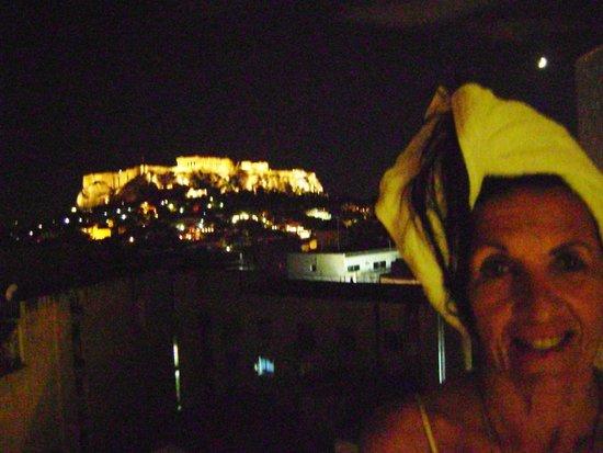 Astor Hotel Athens: desde el balcon
