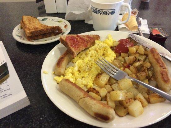 Tasty Lunch: My breakfast.