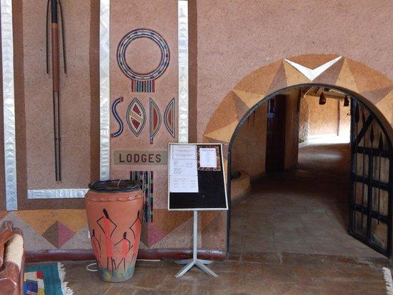 Amboseli Sopa Lodge: Lobby
