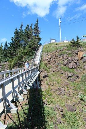 "Swallowtail Lighthouse: The ""scary"" bridge"