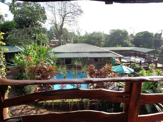 Jasy Hotel : vista desde el balcon de la habitacion