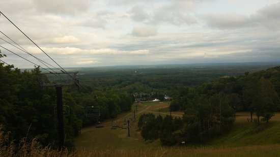 Crystal Mountain: View from top of mountain