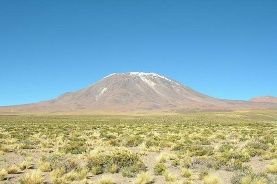 Lascar Volcano: Volcán Láscar, San Pedro de Atacama, Chile.