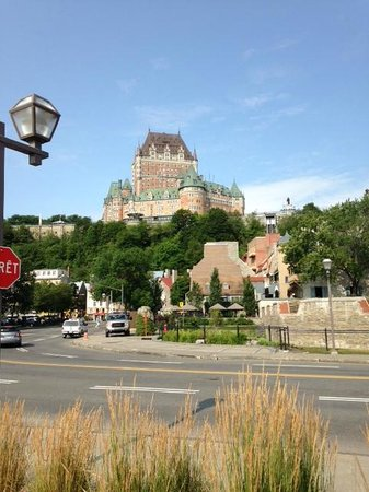 Fairmont Le Chateau Frontenac: View from QC Port