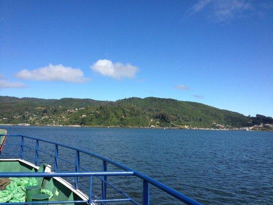 Bahia de Corral: Transbordador rumbo a Corral