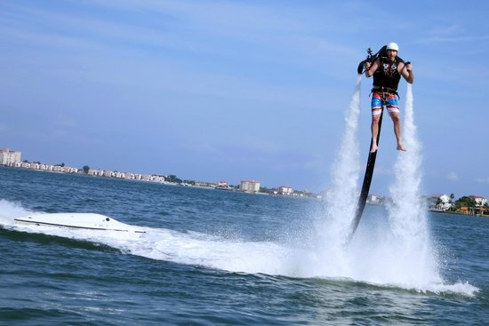 JetLev at TradeWinds Island Resorts : Up up and away...
