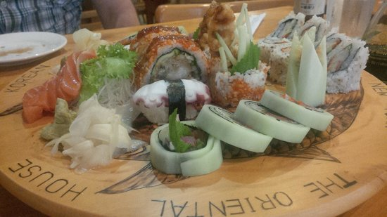 Oriental House: Awesome Sushi!
