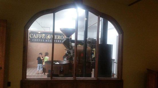Caffe Vero : Our roaster