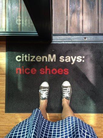 citizenM London Bankside: Citizen M says: