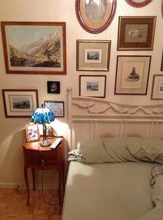 Inn at the WAC: ma chambre mon lit