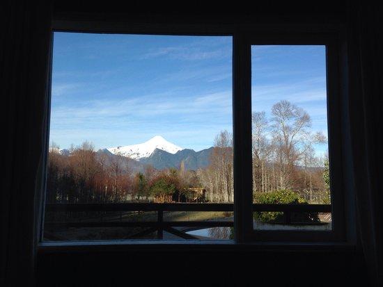Hotel Salto del Carileufu : Vista dalla camera.