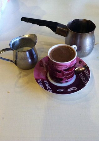 Cleopatra's Restaurant: Turkish Coffee