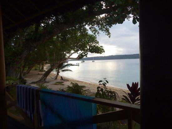 Aore Island Resort : View from No 3 studio Beachfront